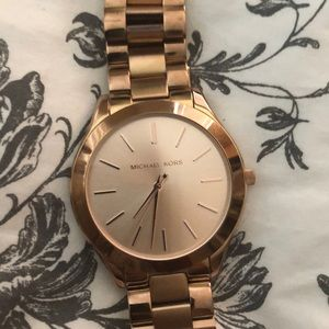Authentic Gently used Michael Kors Rose Gold watch